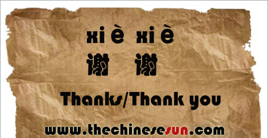 how to write thank you in chinese Learn how to say the chinese phrase for thank you with standard mandarin pronunciation free mandarin phrases with pinyin and literal translation.